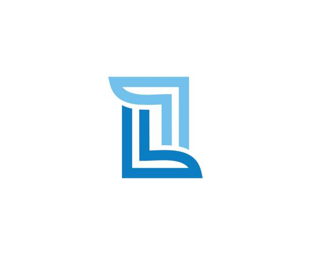 L icon This illustration/vector you can use for any purpose related to your business. letter l stock illustrations