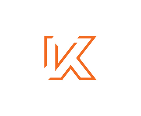 K Icon Stock Illustration - Download Image Now