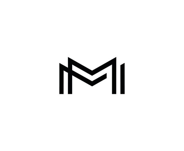 Royalty Free Letter M Clip Art, Vector Images