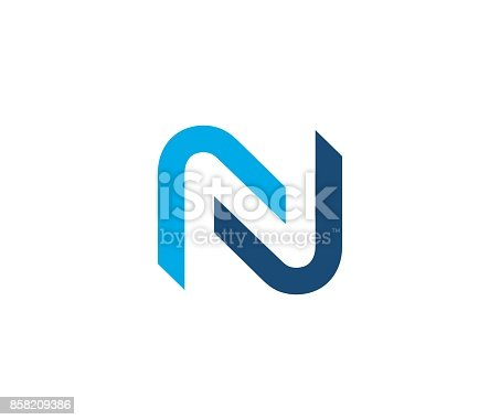 istock N icon 858209386