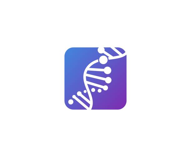 DNA icon This illustration/vector you can use for any purpose related to your business. dna test stock illustrations