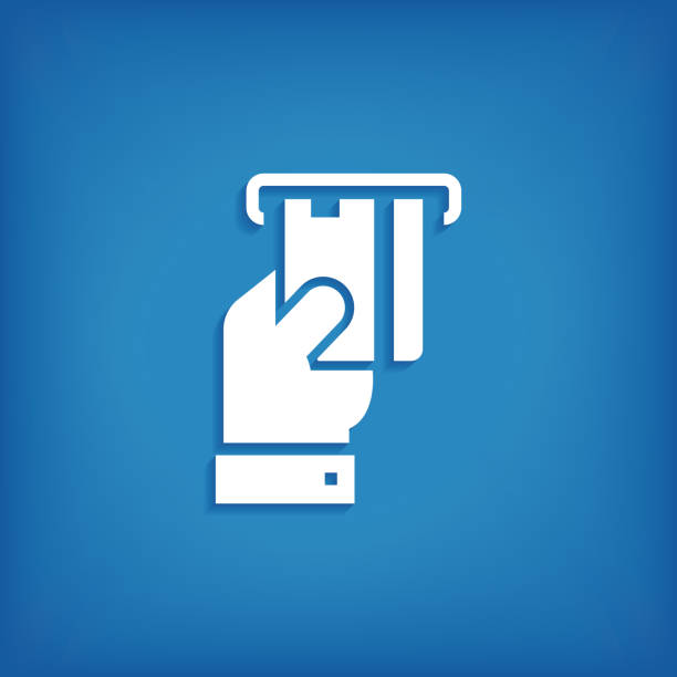 atm-symbol - geldautomat stock-grafiken, -clipart, -cartoons und -symbole