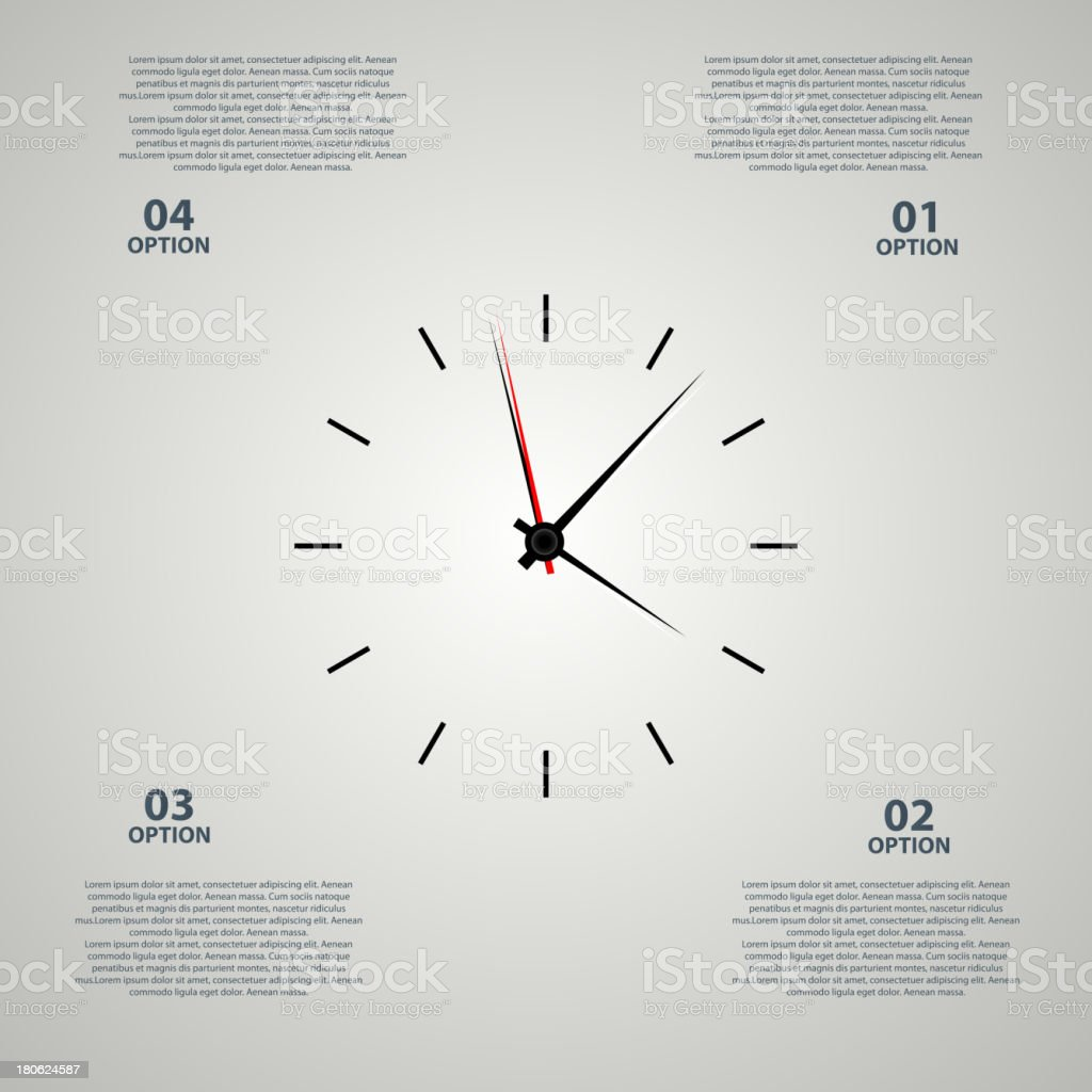 Icon watch vector illustration royalty-free stock vector art