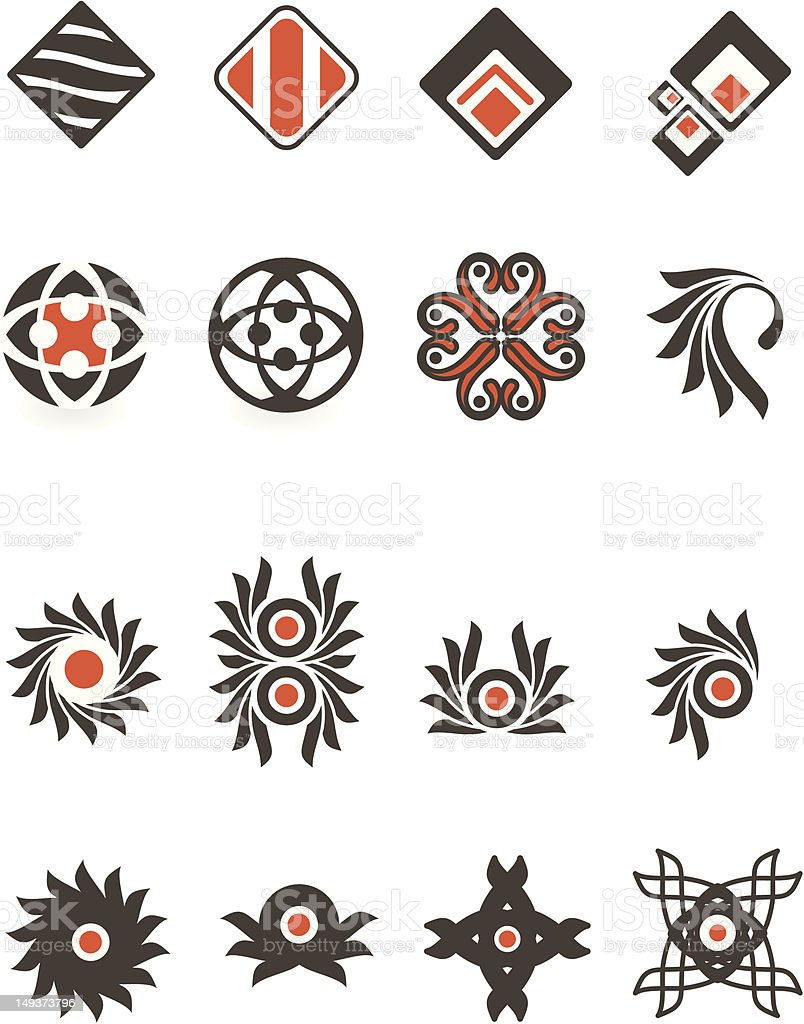 iconic elements royalty-free iconic elements stock vector art & more images of abstract