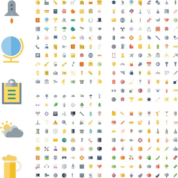 icons for business, technology, industrial, food and drinks - sports medicine stock illustrations, clip art, cartoons, & icons