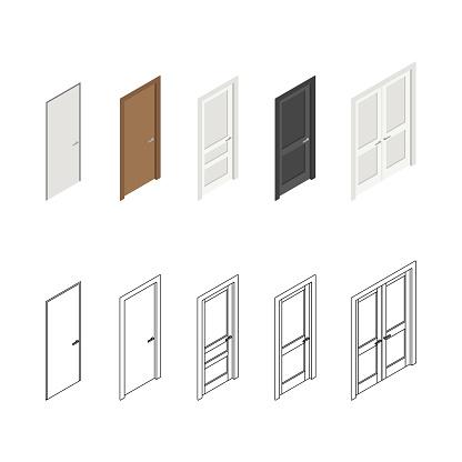 Icons of doors