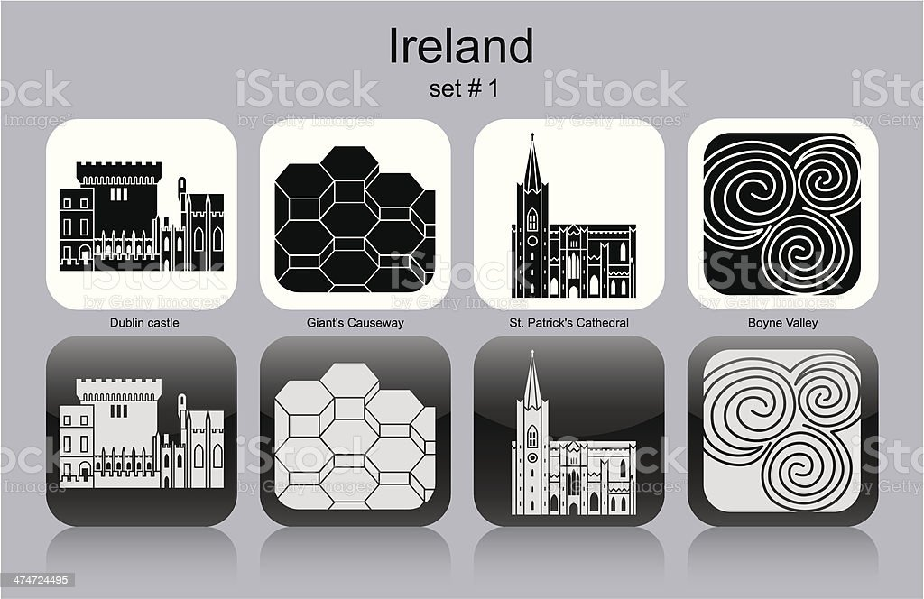 Icons of Ireland royalty-free icons of ireland stock vector art & more images of ancient