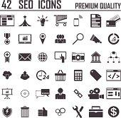 42 SEO Icons Premium Quality