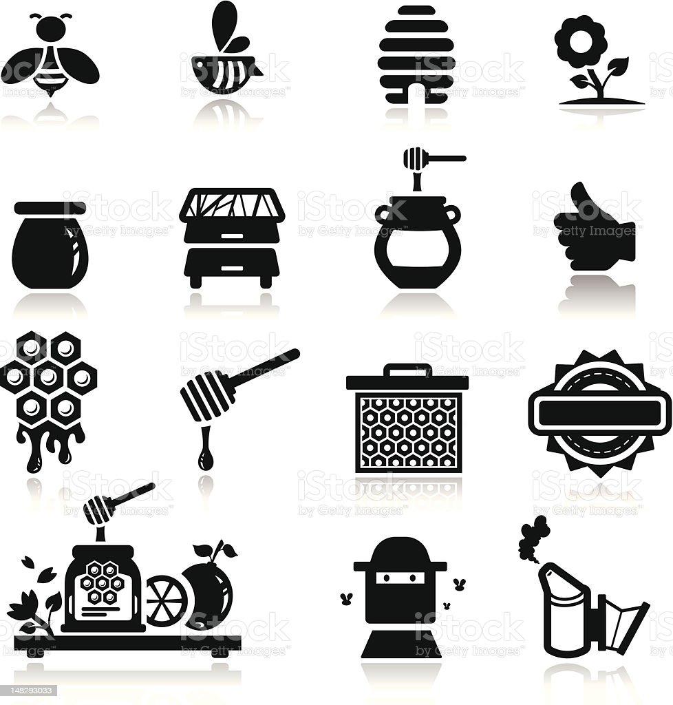 Icons set Honey