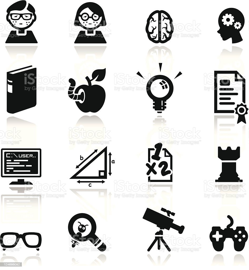 Icons set Nerds royalty-free icons set nerds stock vector art & more images of acne