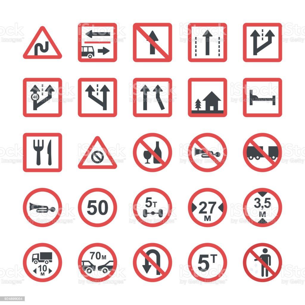 Icons set of symbols in flat design stock vector art more images icons set of symbols in flat design royalty free icons set of symbols in flat buycottarizona