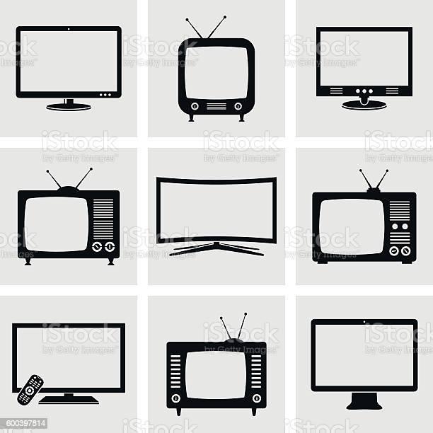 Tviconset Stock Vektor Art und mehr Bilder von Antenne