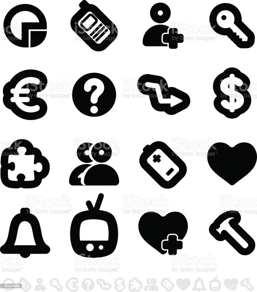 Icons set royalty-free icons set stock vector art & more images of arrow symbol