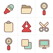 Icons Style Graphic design icons