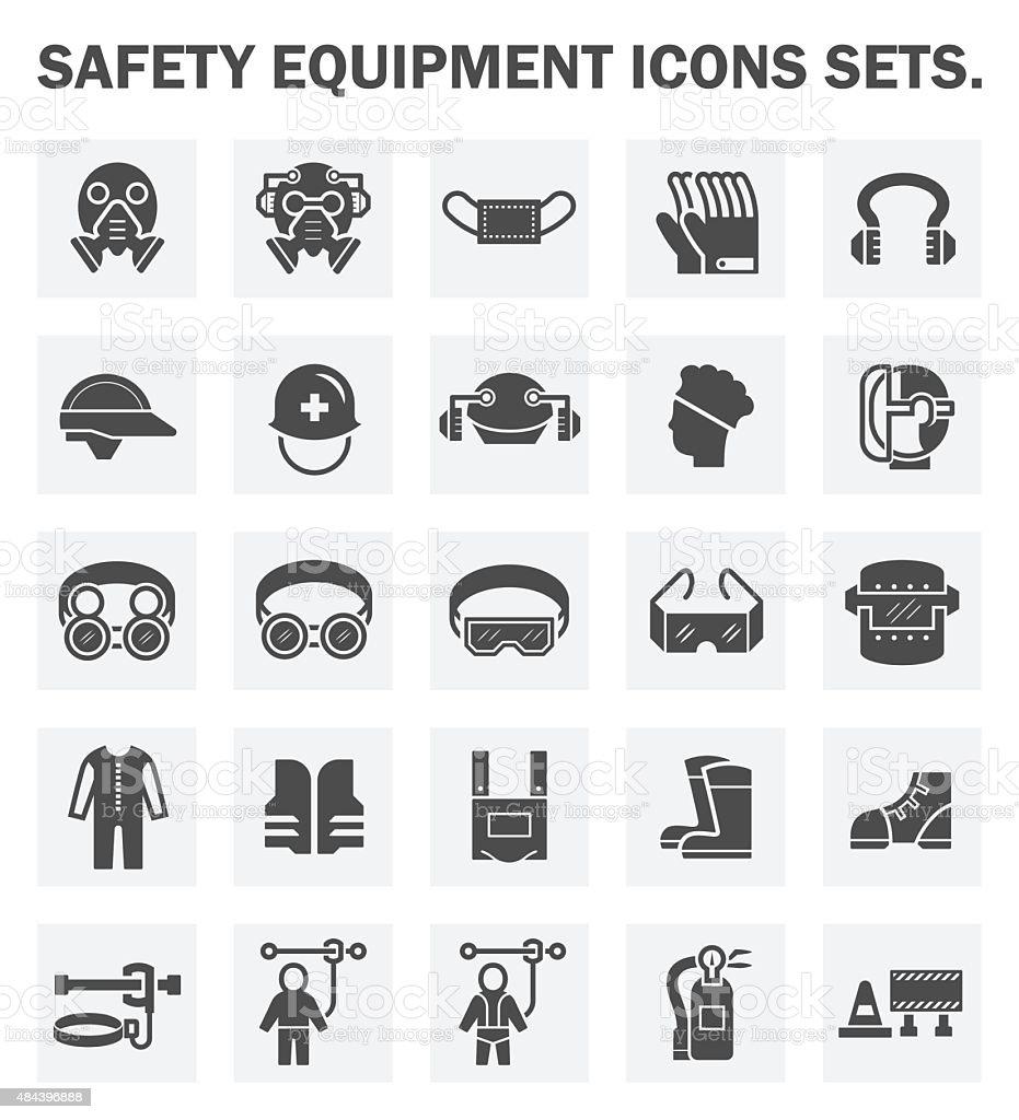 Los iconos - ilustración de arte vectorial