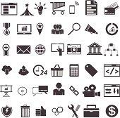 SEO 42 Icons vector