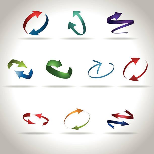 icons vector art illustration