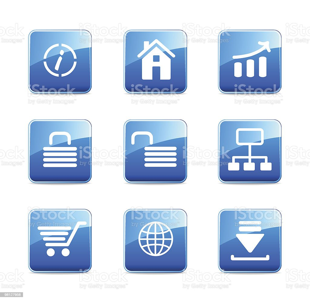 WWW icons royalty-free www icons stock vector art & more images of bar graph