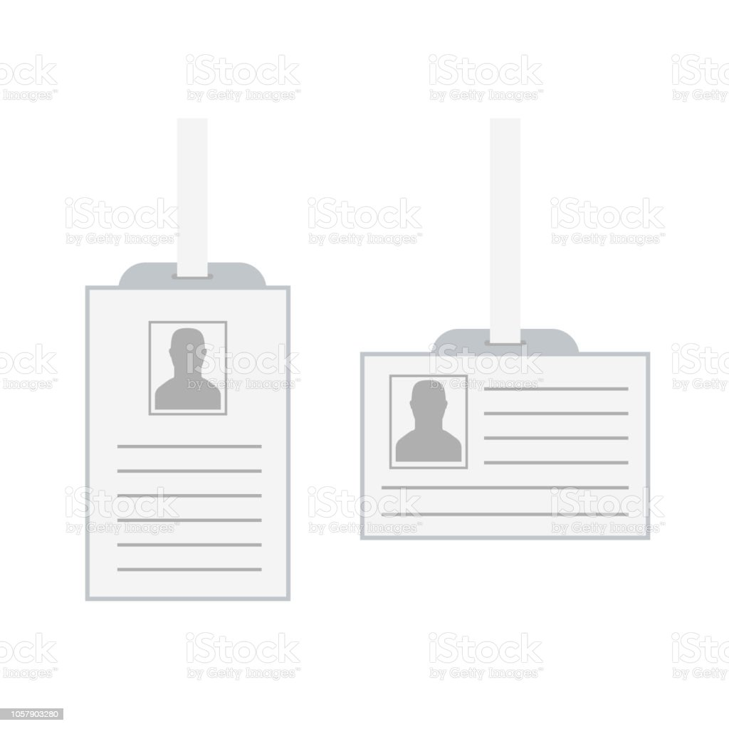 id security cards and identification badge template of id card stock