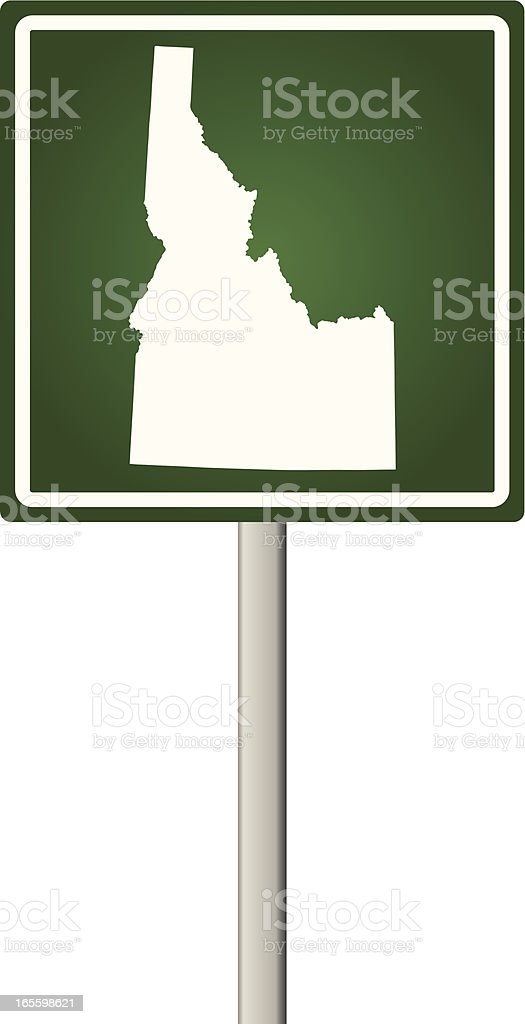 Idaho Sign royalty-free idaho sign stock vector art & more images of illustration