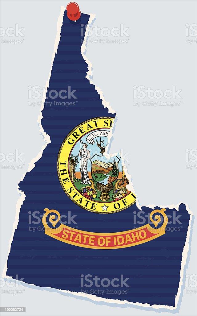 Idaho royalty-free idaho stock vector art & more images of blue background