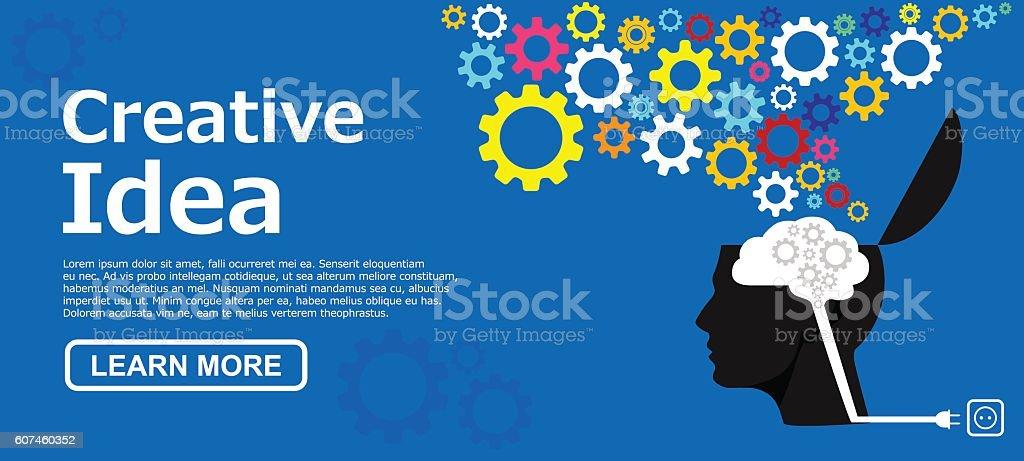 Idea concepts vector art illustration