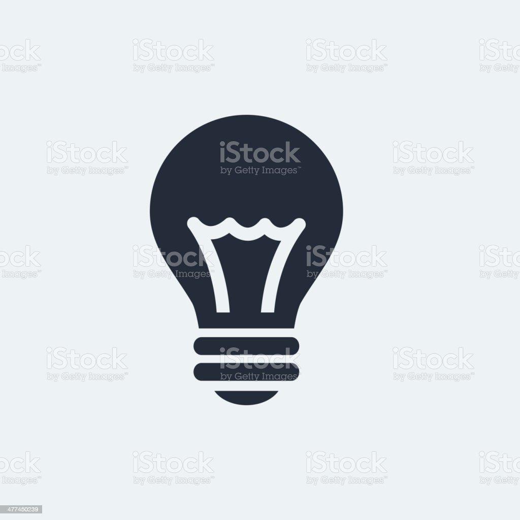 Idea Flat Icon vector art illustration