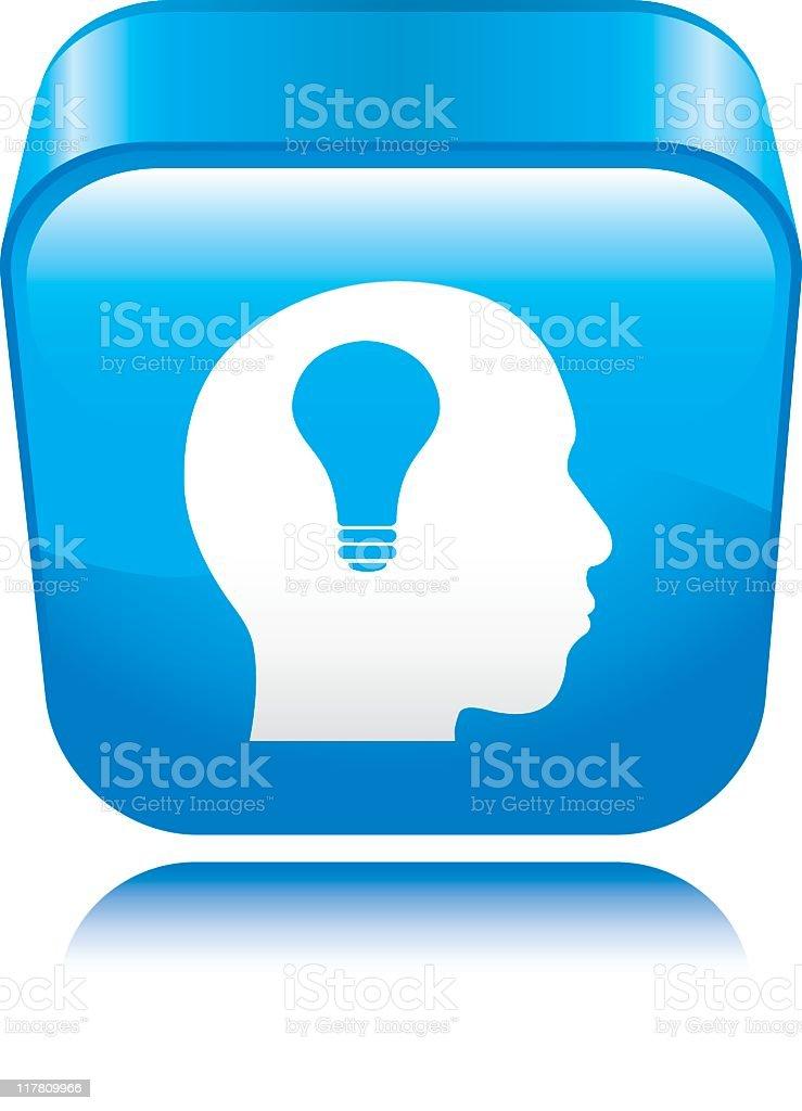 Idea Icon royalty-free stock vector art
