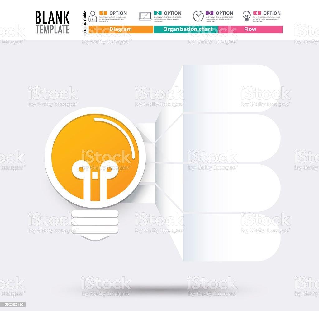 idea infographic template idea graphic diagram stock vector art