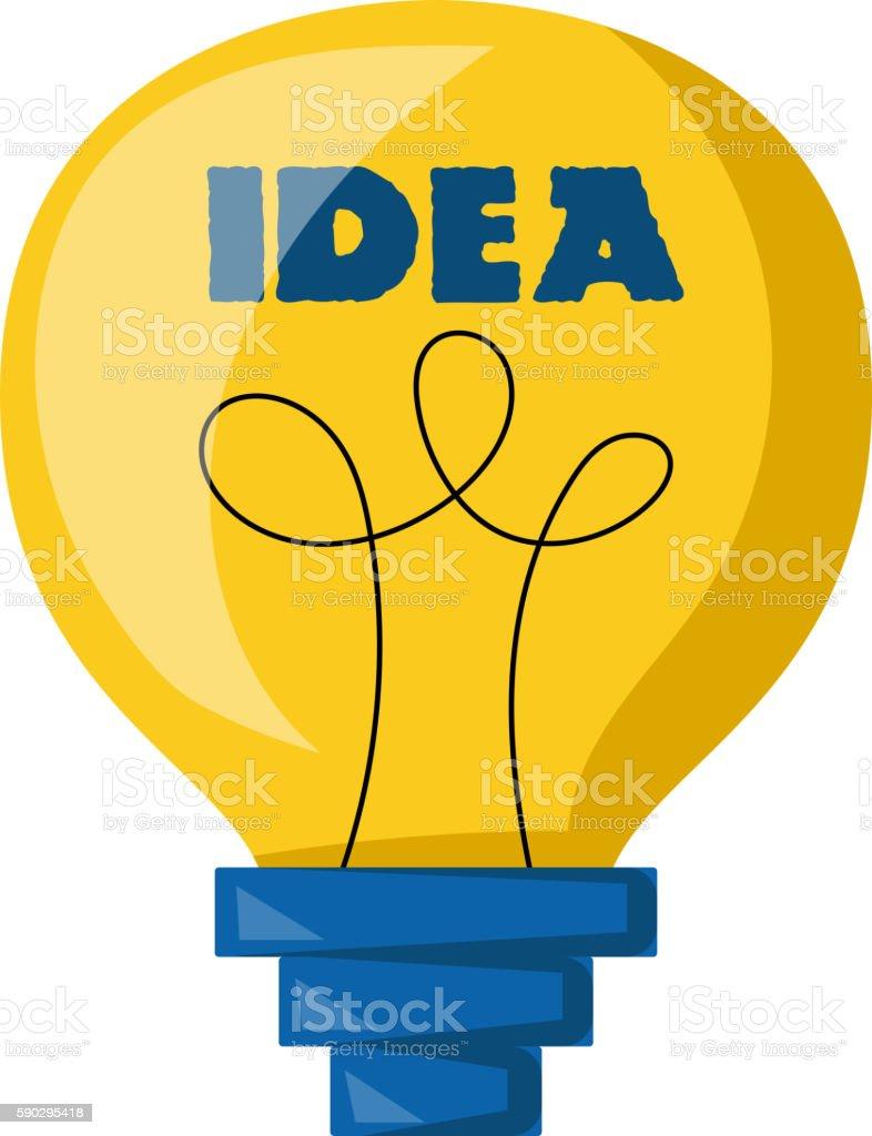 Idea lamp vector icon royaltyfri idea lamp vector icon-vektorgrafik och fler bilder på bild