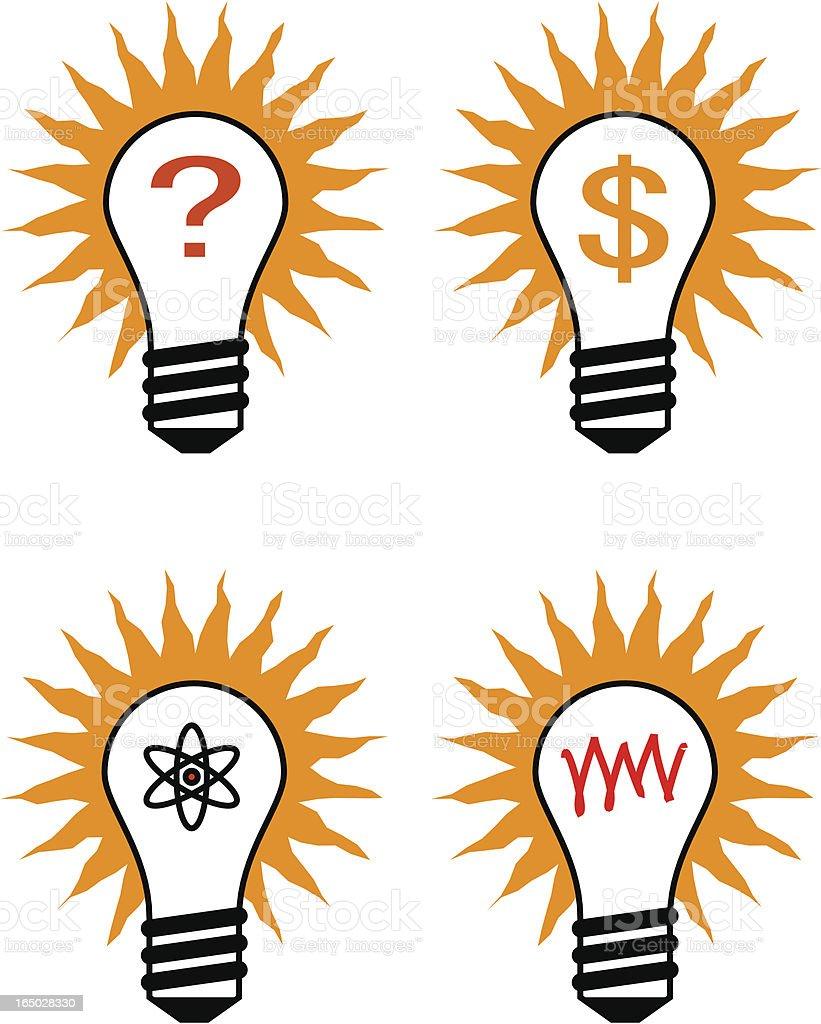 Idea light bulbs royalty-free idea light bulbs stock vector art & more images of asking