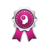 Idea Pink Vector Icon Design