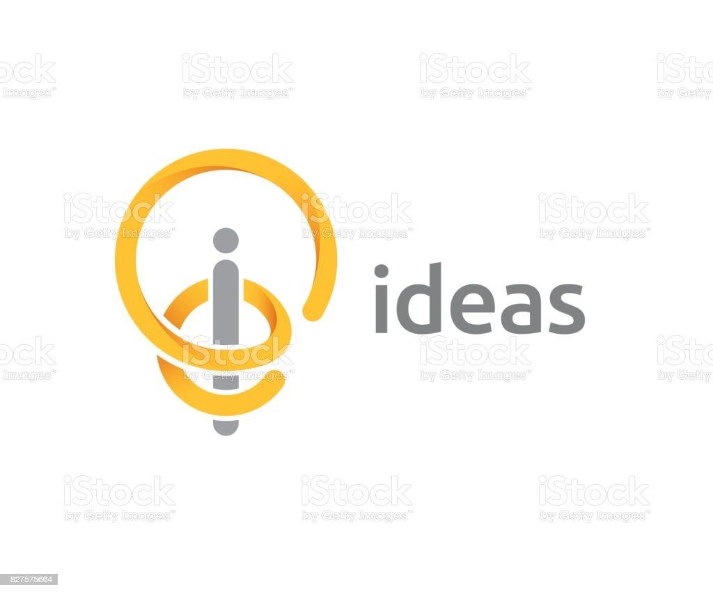 idea vector icon vector art illustration