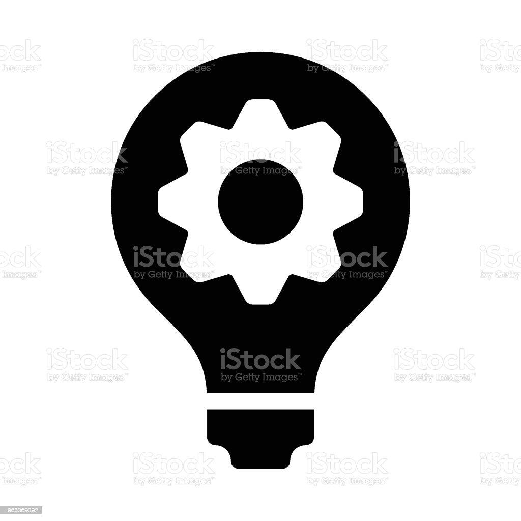 理念 - 免版稅仔細考慮圖庫向量圖形