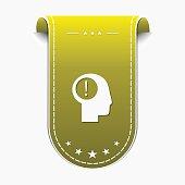 Idea Yellow Vector Icon Design