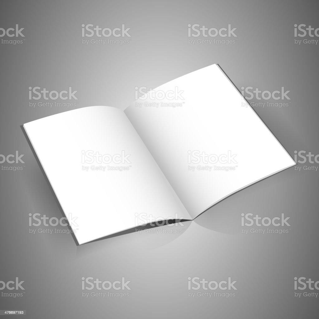 identity horizontal white magazine royalty-free stock vector art