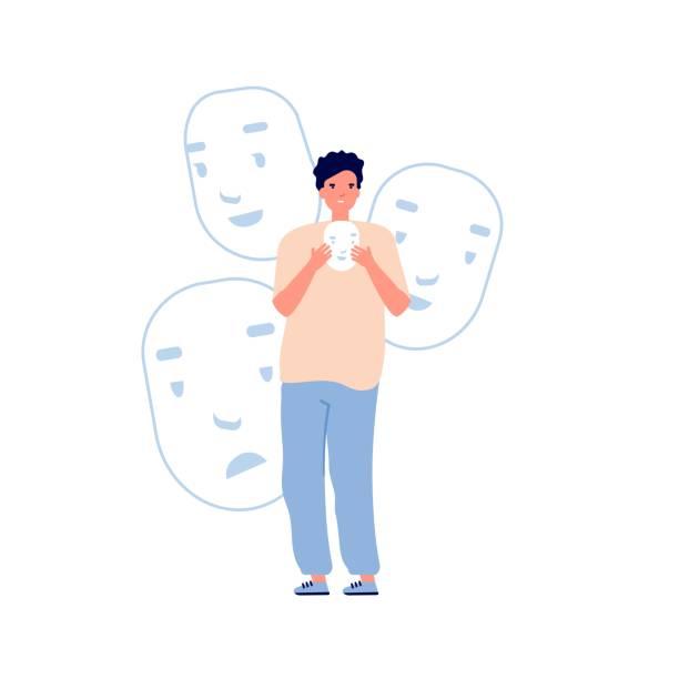 29 Dissociative Identity Disorder Illustrations & Clip Art - iStock
