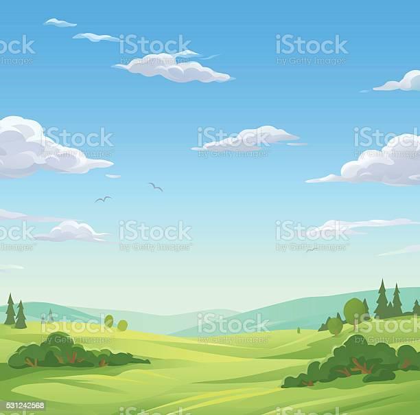 Idyllic landscape vector id531242568?b=1&k=6&m=531242568&s=612x612&h=af5g3bifj1mvqvx0mgi235 9kafpddso s7w1d6miem=