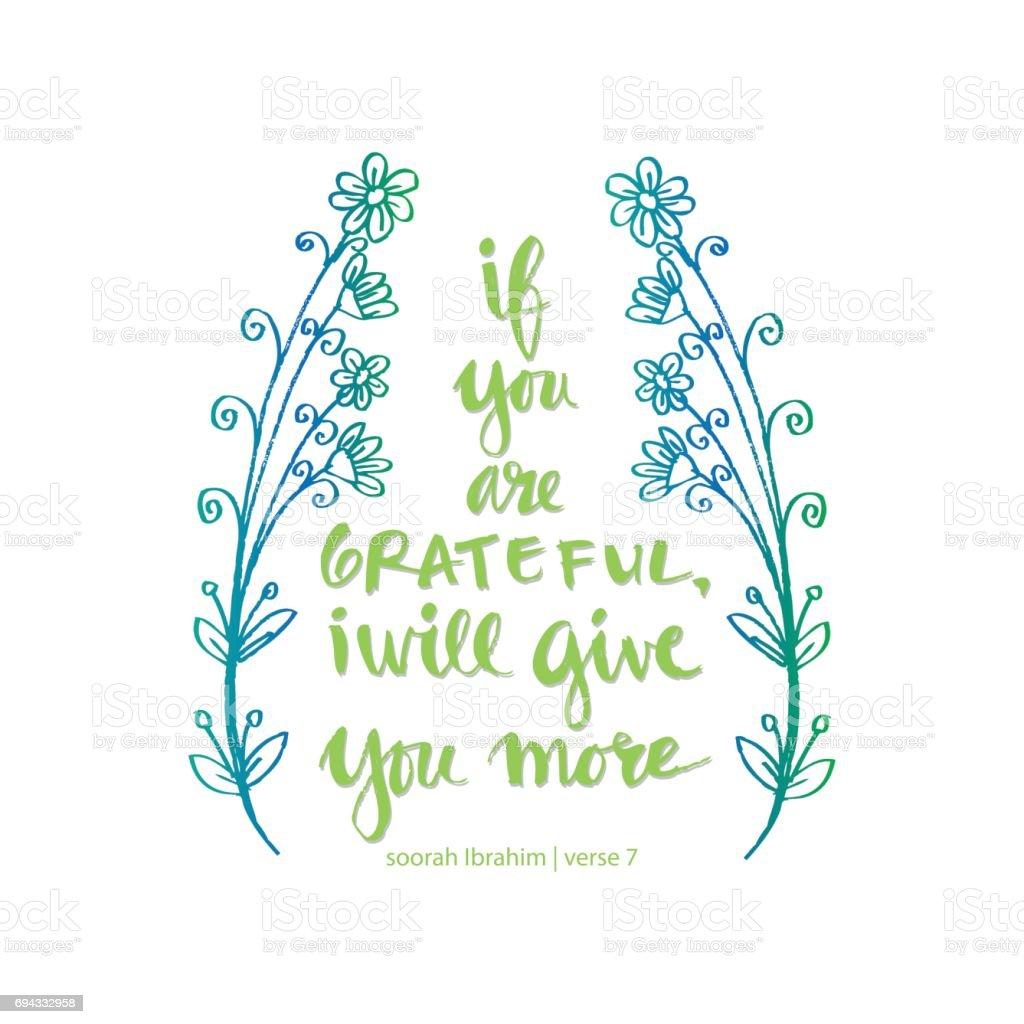 Citaten Quran Gratis : Bent u dankbaar ik will geeft je meer islamitische quran