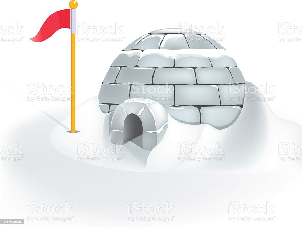 Igloo icehouse stock vector art more images of arch 517936930 igloo icehouse royalty free igloo icehouse stock vector art amp pooptronica