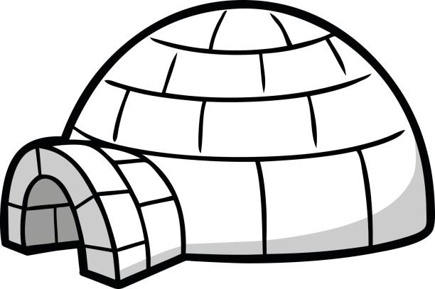 Best Igloo Illustrations, Royalty-Free Vector Graphics