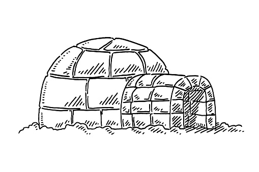 Igloo Symbol Drawing