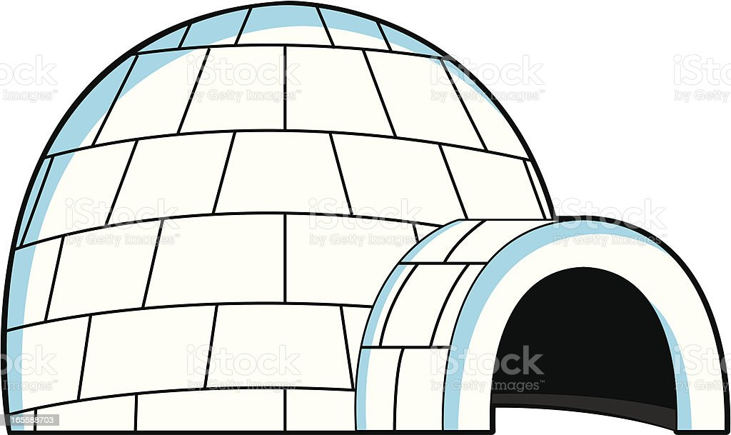 royalty free igloo clip art vector images illustrations istock rh istockphoto com igloo clipart free igloo clipart picture