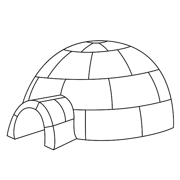 Best Clipart Igloo Illustrations, Royalty-Free Vector