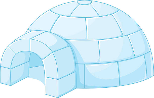 Best Igloo Illustrations, Royalty-Free Vector Graphics ...