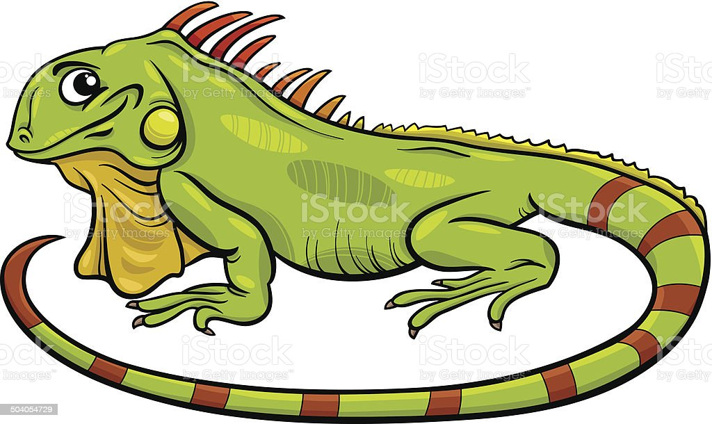 iguana animal cartoon illustration stock vector art more images of rh istockphoto com iguana silhouette free clip art iguana clipart vector