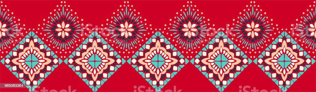 Ikat geometric folklore ornament. Tribal ethnic vector texture. Seamless striped pattern in Aztec style ikat geometric folklore ornament tribal ethnic vector texture seamless striped pattern in aztec style - stockowe grafiki wektorowe i więcej obrazów adamaszek royalty-free