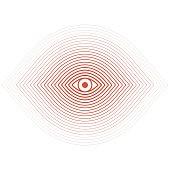Illusion, Eye, Concentric, Icon, Focus - Concept