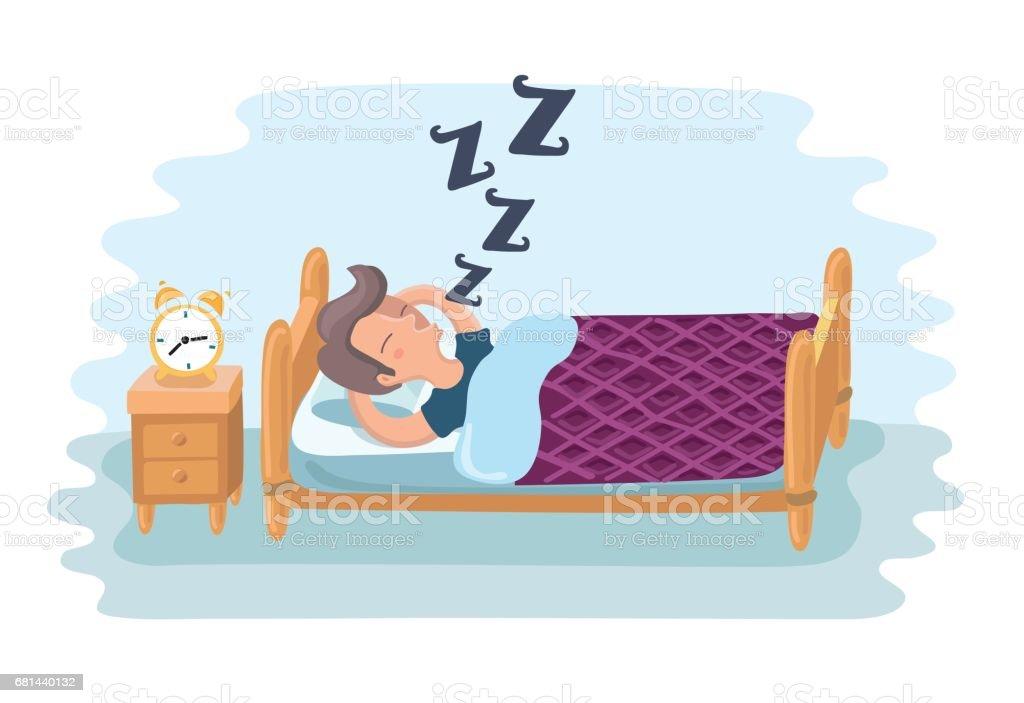 Illustation of sleeping boy royalty-free illustation of sleeping boy stock vector art & more images of alarm