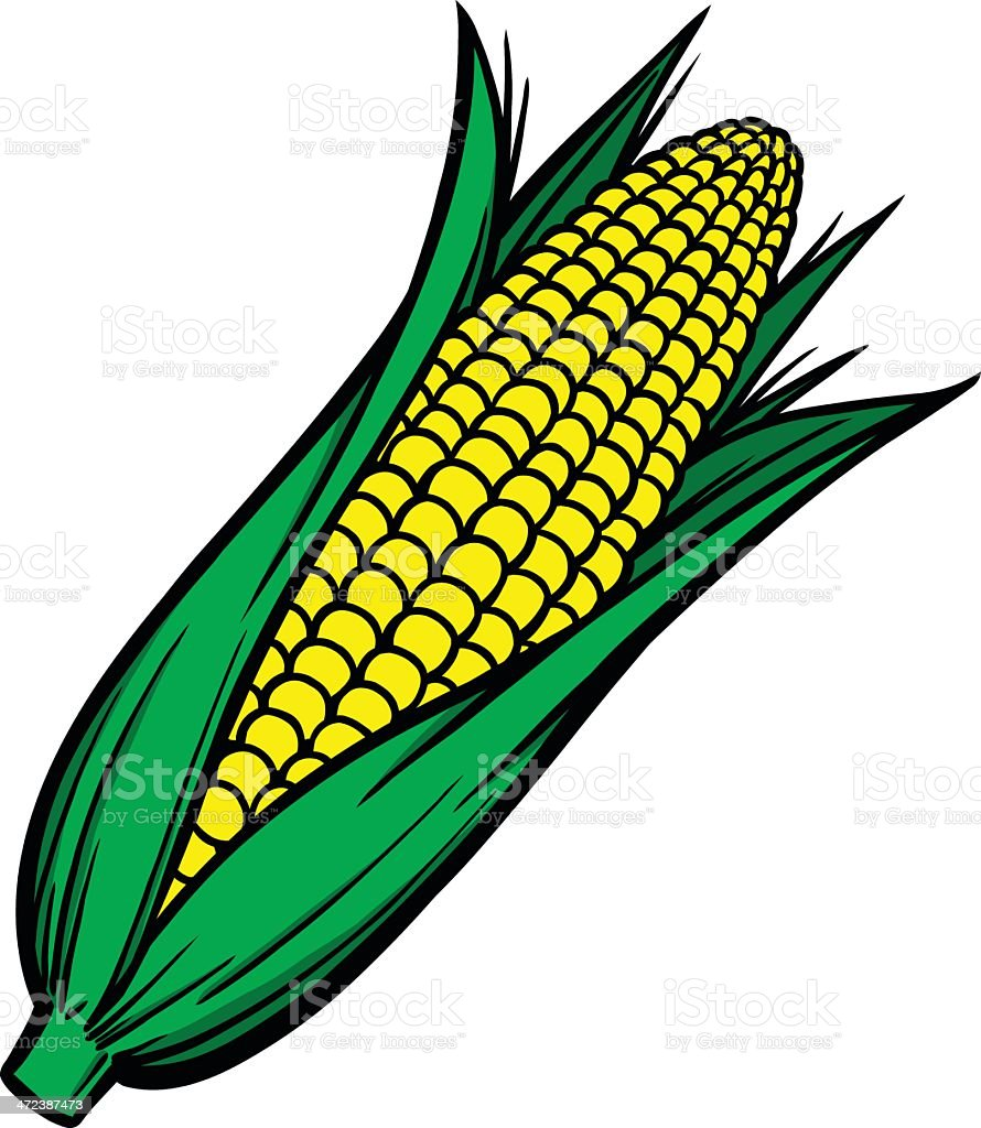 royalty free corn on the cob clip art vector images illustrations rh istockphoto com clip art corn stalks clip art corner